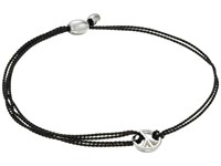 Alex And Ani Kindred Cord Peace Black Rose Bracelet Pink