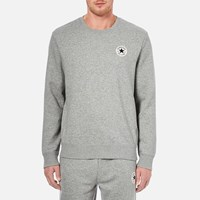 Converse Men's Crew Neck Sweatshirt Vintage Grey Heather
