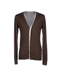 Eleven Paris Cardigans Dark Brown