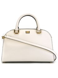 Dolce And Gabbana Bowling Tote Bag White