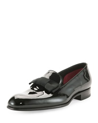 Tom Ford Charles Patent Leather Loafer Black