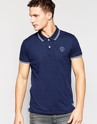 Jack And Jones Jack And Jones Twin Tipped Polo Blue