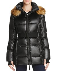 Aqua Nicky New Alps Puffer Jacket Jet Black