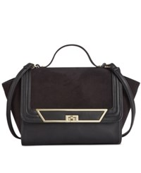 Inc International Concepts Fendel Top Handle Crossbody Only At Macy's Black