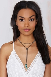 Nasty Gal Lawless Bolo Tie Necklace