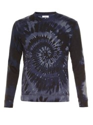 Valentino Long Sleeved Tie Dye Sweatshirt Blue Multi