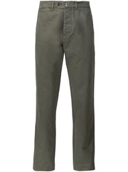 Officine Generale Chino Trousers Green