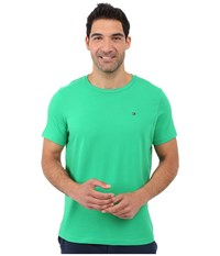 Tommy Hilfiger Short Sleeve Crew Neck T Shirt Sprout Men's T Shirt Green