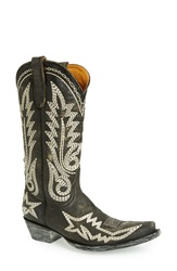 Old Gringo 'Nevada Heavy' Embroidered Leather Boot Women Black