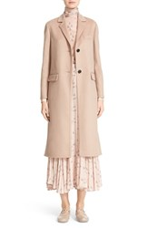 Valentino Women's Double Face Wool And Cashmere Long Coat