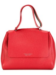 Orciani Medium Tote Bag Red