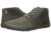 Ben Sherman Pete Heather Grey Men's Lace Up Boots Gray