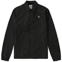 Wood Wood Kael Logo Jacket Black