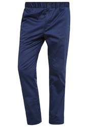 Pier One Trousers Dark Blue