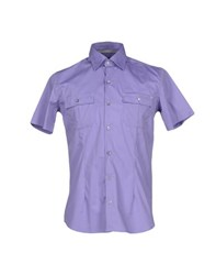 Peuterey Shirts Shirts Men Purple