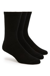 Men's Big And Tall Nordstrom Men's Shop Crew Cut Athletic Socks 3 Pack