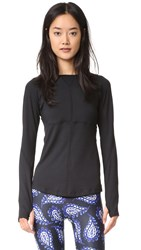 Prismsport Running Top Black Black