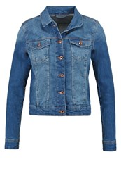 Edc By Esprit Denim Jacket Blue Dark Wash