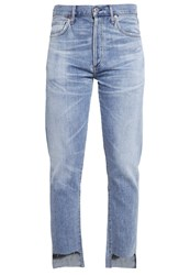Citizens Of Humanity Liya Straight Leg Jeans Horizon Light Blue