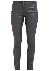 Noisy May Fame Trousers Asphalt Dark Gray