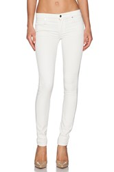 Genetic Los Angeles Stem Mid Rise Skinny Winter White