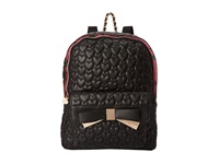 Betsey Johnson Be Mine Forever Backpack Black Backpack Bags