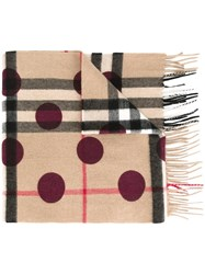 Burberry Multiple Patterned Scarf Multicolour