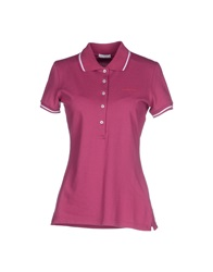 Roy Rogers Roy Roger's Polo Shirts Garnet