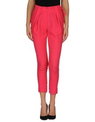 Orion London Casual Pants Fuchsia