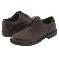 Dunham Burlington Smooth Brown Men's Plain Toe Shoes