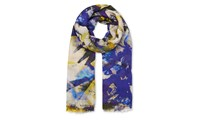 Whistles Lily And Lionel Pineapple Scarf Multicolour