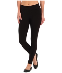 Hue Ultra Leggings W Wide Waistband Black Women's Clothing