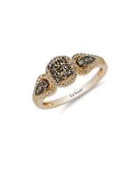 Le Vian 0.09Tcw Diamonds And 14K Yellow Gold Chocolatier Ring