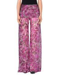 Fisico Cristina Ferrari Trousers Casual Trousers Women Light Purple