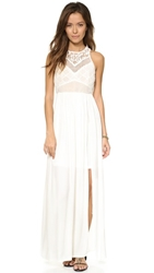 Bless'ed Are The Meek Endless Summer Maxi Dress Ivory