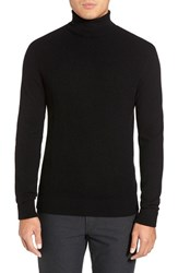 Men's Kenneth Cole Black Label Wool And Cashmere Turtleneck Sweater