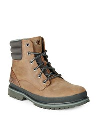 Helly Hansen Gataga Leather Boots Tobacco