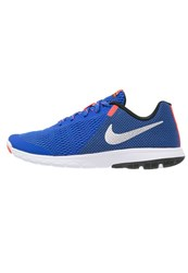 Nike Performance Flex Experience Run 5 Lightweight Running Shoes Racer Blue Metallic Silver Black White Total Crimson