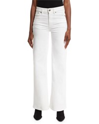 Ralph Lauren 143 High Rise Wide Leg Jeans White