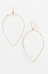 Lana 'Glam' Small Pear Drop Earrings Yellow Gold