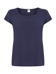 Vero Moda Short Sleeved T Shirt Navy