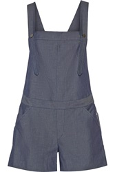 Rebecca Minkoff Balearic Cotton Chambray Overalls