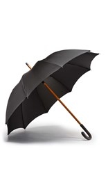 Ghurka Gentleman's Umbrella Black