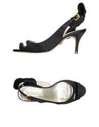 Schumacher High Heeled Sandals Black
