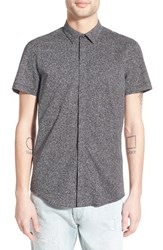Men's Antony Morato '1000' Trim Fit Short Sleeve Print Woven Shirt