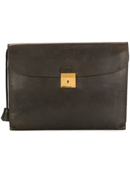 Herma S Vintage Classic Briefcase Brown