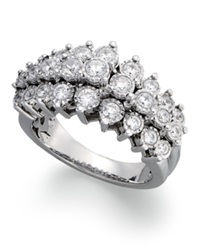 Trumiracle Diamond Pyramid Ring In 10K White Gold 1 Ct. T.W.