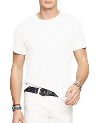 Polo Ralph Lauren Cotton Jersey Pocket Tee White