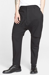 Chapter 'Xavier' Double Layer Stretch Wool Pants Charcoal