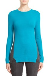 St. John Women's Collection Two Tone Wool Sweater